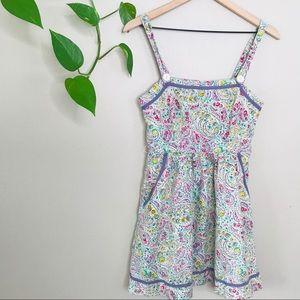 Anthropologie Tikirani paisley floral print dress